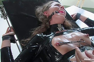 Sandra's Latex Slave