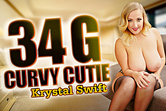 34 G Curvy Cutie with Krystal Swift