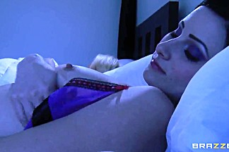 Hot lesbian sleepover with remarkable Kendra and Veruca