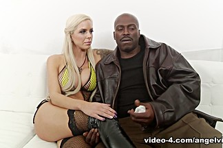 Crazy pornstars Lexington Steele, Skin Diamond, Nina Elle in Incredible Pornstars, Interview porn scene