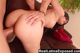 RealLatinaExposed  Tuesday fingers her pussy to get it ready for a huge dick