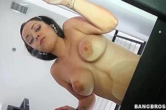 Liza del Sierra is a French girl with big natural tits