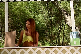 Giselle Leon,Jennifer White In Farm Girls Gone Bad, Scene 2