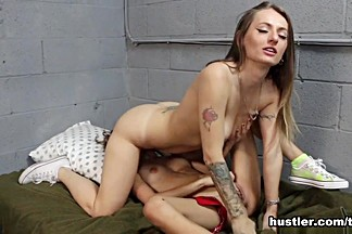 Natasha Starr and Rebel Lynn in Prison Lesbians - Hustler