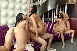 Amazing pornstars Gracie Glam, Katie Kayne and Brandy Aniston in incredible big ass, blowjob sex movie