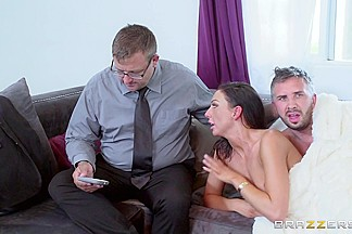 Tiffany Brookes & Keiran Lee in Sex With A Salesman - Brazzers