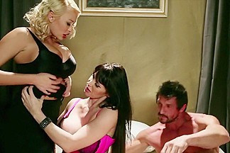 Horny pornstars Summer Brielle Taylor, Nikki Delano and Eva Karera in hottest hd, cunnilingus sex video