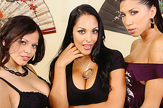 Evie Delatosso & Kayla Carrera & Nina Mercedez in Latin Adultery