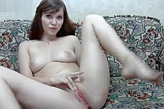 Naked LiaAnGel in front of webcam