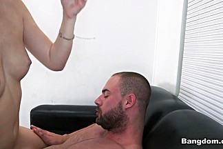Natalie Lust in Shy redhead's good time - BackRoomFacials