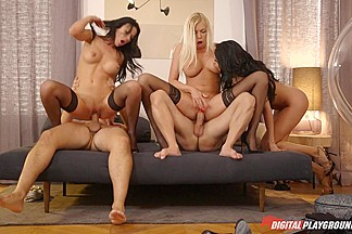Anissa Kate & Donna Bell & Shalina Devine & Keiran Lee & Mike Angelo in The Pleasure Provider, Episode 6 - DigitalPlayground