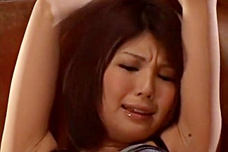 Hottest Japanese chick Azumi Harusaki in Amazing BDSM, Lingerie JAV movie