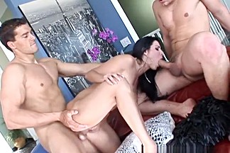 Best pornstar Veronica Rayne in crazy blowjob, brunette sex clip