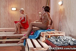 Hot And Mean: Hot Sauna Pussy