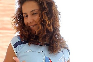 Russian Curly Hair college girl Fucking