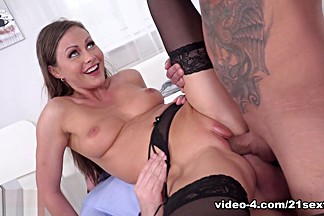Tina Kay & Zack in Personal Assistant Serving Two Cocks - 21Sextury