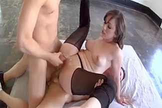 Unfathomable fuck double penetration
