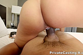 Private Casting X - Holly Hendrix - Growing fond of big cock