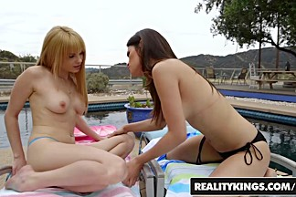 RealityKings - We Live Together - Jayme Langford Vanessa Veracruz - Amazing Licking