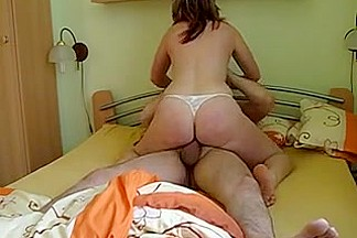 kinky homemade amateur girlfriend riding my cock giant orgasm