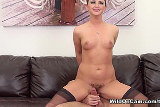 Hope Howell in Hope Returns and She's Fucking Live - WildOnCam