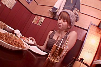Horny Japanese model Mayu Nozomi in Hottest bar JAV video