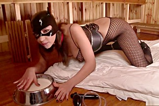Horny pornstar Latex Lucy in fabulous hd, fetish adult clip