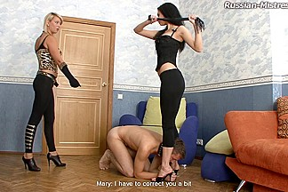 Russian-Mistress Video: Amanda & Karen