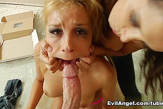 Carmen Caliente,Francesca Le,Mark Wood in Facial Vi0lation #03, Scene #05