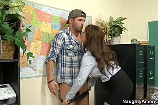 Diamond Foxxx & Kris Slater in My First Sex Teacher