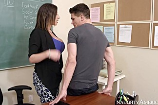 Sara Jay & Bruce Venture in My First Sex Teacher