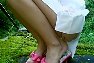 Incredible Japanese chick Kaho Kasumi in Crazy Blowjob, Outdoor JAV video