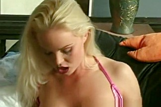 Hottest pornstar Silvia Saint in crazy facial, blonde sex movie