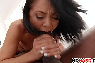 Sweet Kristina Rose gets fucked by Mandingo