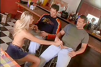 Ashley Long Fucked Anal by Two Guys