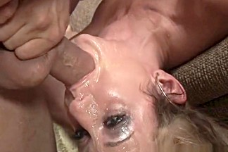Crazy pornstar Gia Gold in fabulous deep throat, facial porn movie