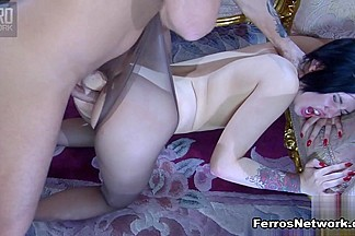 Anal-Pantyhose Video: Griffith and Frederic