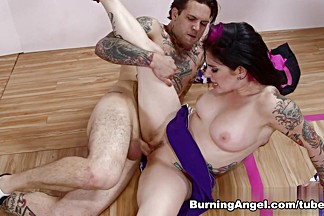 Amazing pornstars Joanna Angel, Small Hands in Crazy Anal, Cumshots xxx video