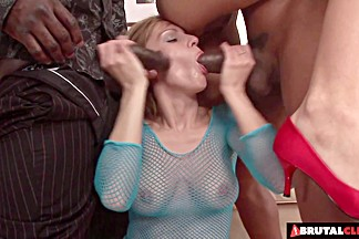 ###Clips  ### cocks rip both her holes