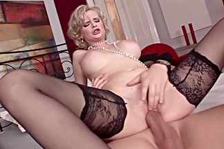 Horny pornstar Tarra White in fabulous mature, blonde adult clip