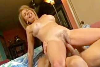 Erica lauren is so happy riding a cock