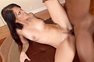 Exotic pornstar Jennifer Dark in fabulous interracial, facial porn movie