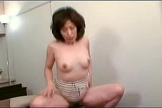 Very Curly Older Japanese Floozy Creamed (Uncensored)