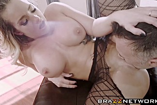 Sexy Cali Carter and her hung lover love fucking like crazy