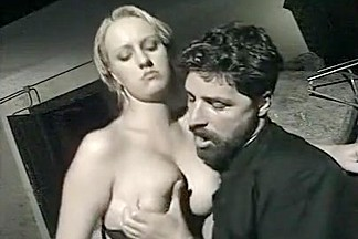 Priest fucks Alba Foster: scene from 'Il Confessionale'