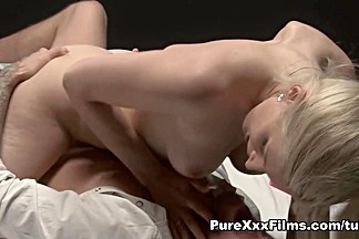 Exotic pornstar Mira Sunset in Horny Blonde, Small Tits porn clip