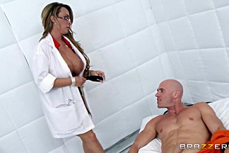 Doctor Adventures: Jailhouse Fuck. Holly Halston, Johnny Sins
