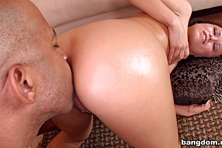 Kaci Starr Creams On The Monster Cock