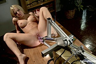 Amazing fetish sex clip with incredible pornstar Amy Brooke from Fuckingmachines