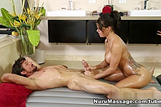 Peta Jensen , Tommy Gunn in Sorry My Husband Owes You Money Scene